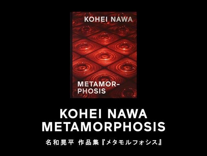 名和晃平 METAMORPHOSIS