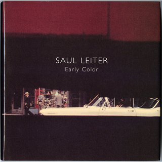 Early Color/SAUL LEITER (ソール・ライター) 写真集【仏語版】