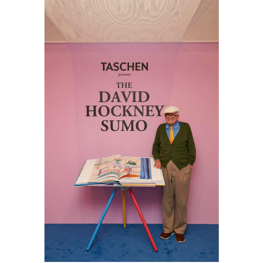 David Hockney. A Bigger Book/デイヴィッド・ホックニーのSUMO BOOK