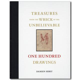 TREASURES  FROM THE WRECK OF THE UNBELIEVABLE ONE HUNDRED DRAWINGS/ダミアン・ハーストのドローイング100点を収録した作品集