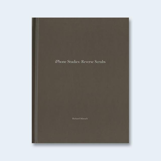 RICHARD MISRACH (リチャード・ミズラック) | One Picture Book #82: iPhone Studies: Reverse Scrubs 【限定500部、オリジナルプリント付】