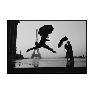 《Umbrella Jump》ELLIOTT ERWITT Platinum Editions【プリント作品】