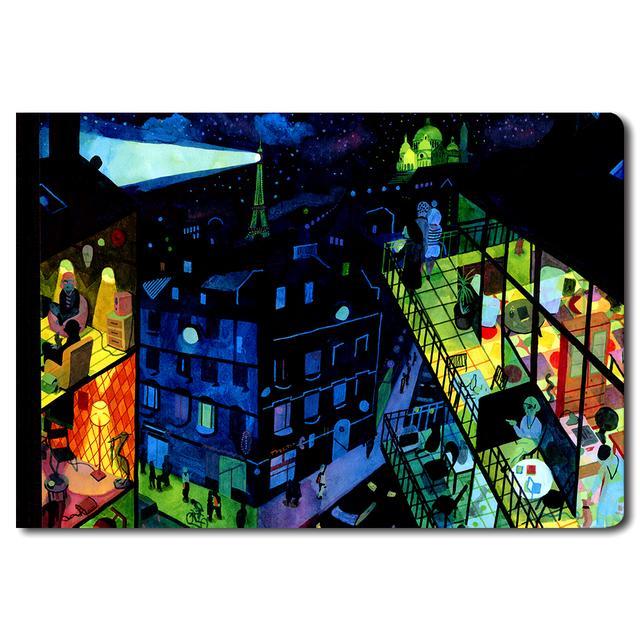 ae86cd35 Louis Vuitton Travel Book series Paris BRECHT EVENS  ルイ・ヴィトンによる、イラストレーターが世界の各都市を描いたトラベルブック パリ ブレヒト・エヴァンス