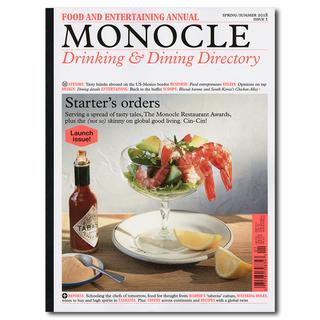 THE MONOCLE DRINKING & DINING DIRECTORY ISSUE 1