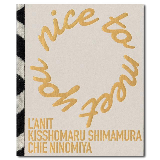 nice to meet you l anit 二宮ちえによるコラボレーションブック 嶌村