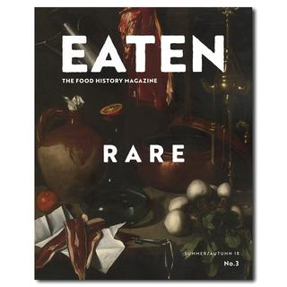 "EATEN Magazine No.3 ""RARE"" summer/autumn 18 ワシントンD.C.発フード雑誌"