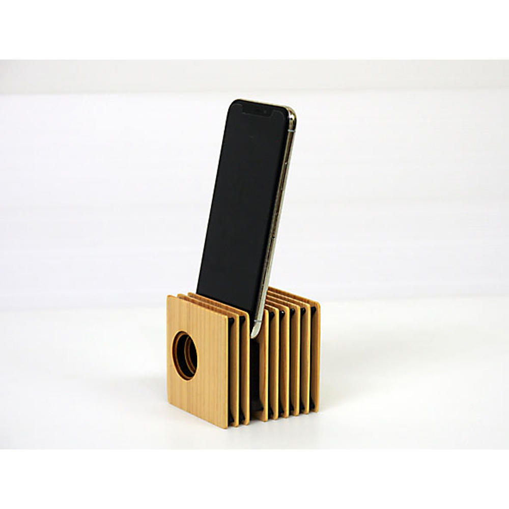 Wood Fin Cube 木製スピーカー