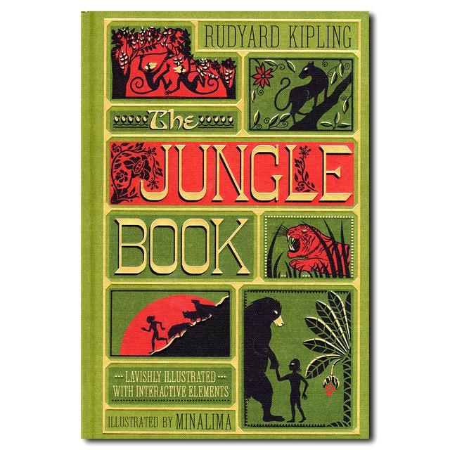 しかけ絵本 the jungle book ラドヤードキップリングの傑作 出版社