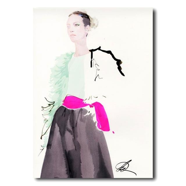 David Downton [Valentino Couture Spring/Summer 2019]-額装アートプリント