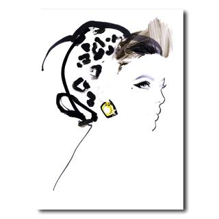 David Downton [ABSOLUT VODKA/ACNE PAPER]-額装アートプリント