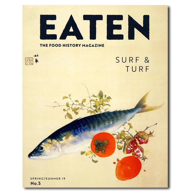 "EATEN Magazine No.5 ""SURF&TURF"" summer/autumn 18"