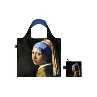 LOQI トートバック VERMEER Girl with a Pearl Earring,c1665/フェルメール 真珠の耳飾りの少女