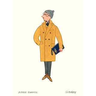 London Boy Alfred Dunhill Polo Coat/Slowboy【サイン入】