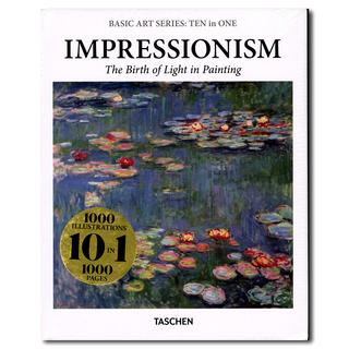 【50%OFF】Basic Art Series: TEN in ONE. Impressionism (Basic Art Series 10 in 1)