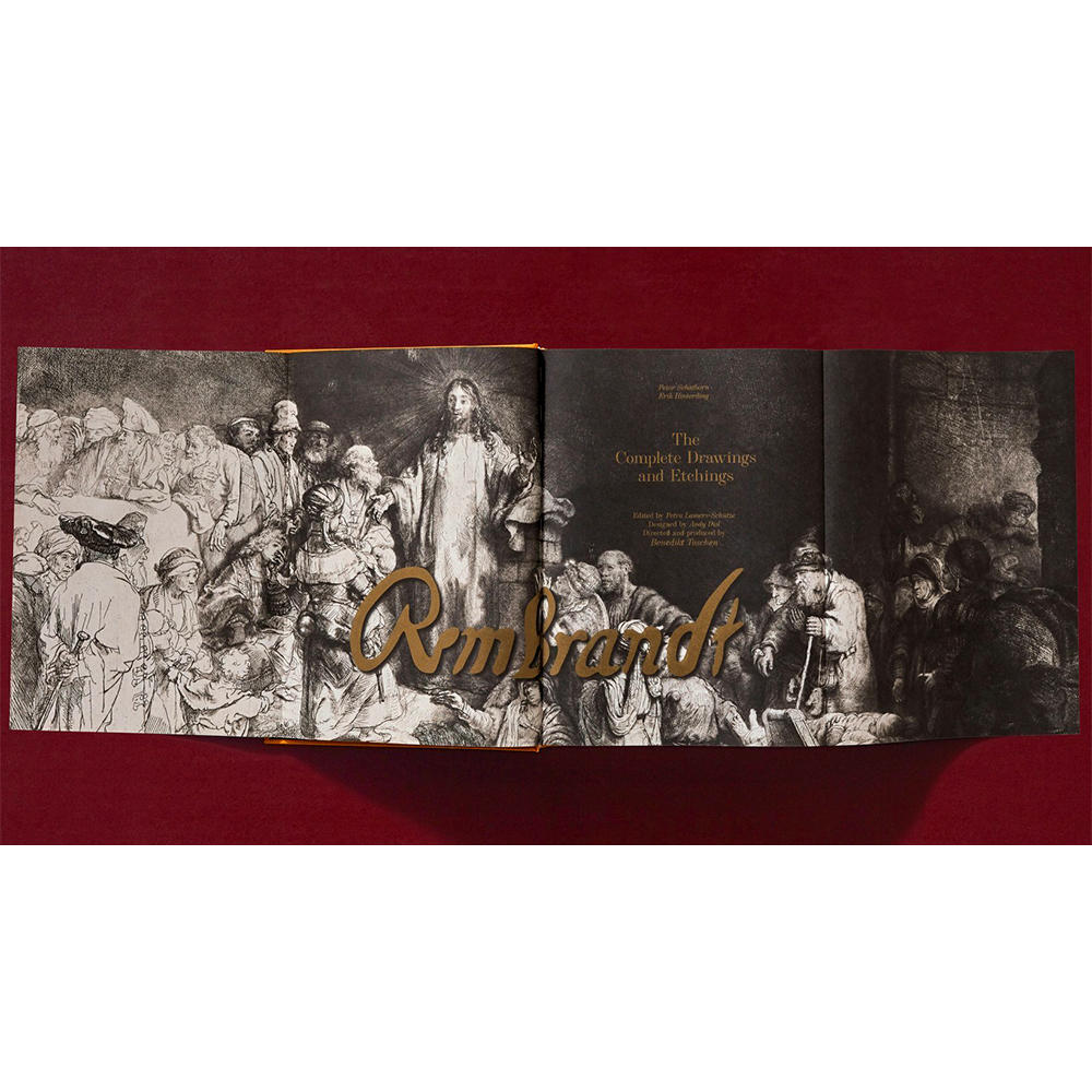 【50%OFF】Rembrandt. The Complete Drawings and Etchings レンブラントのドローイングとエッチング集