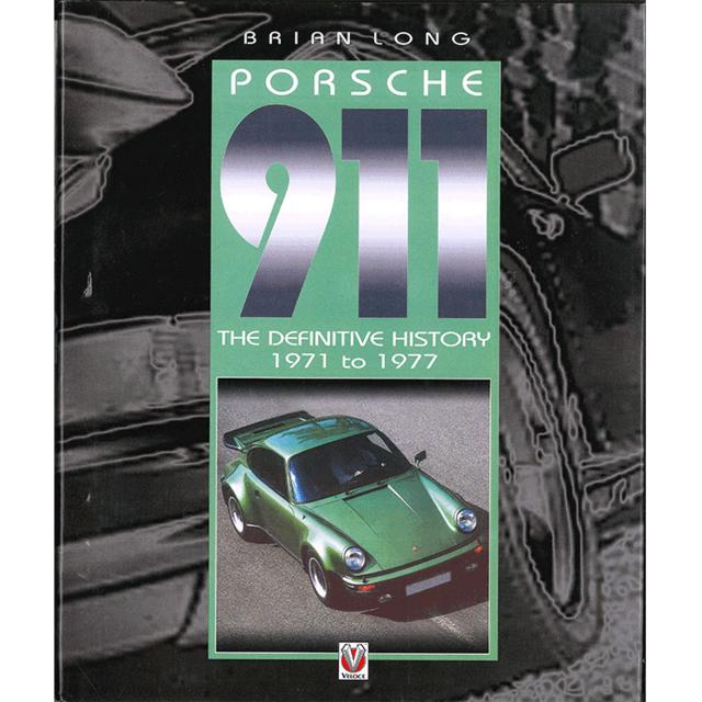 【古書】PORSCHE 911 THE DEFINITIVE HISTORY 1971 TO 1977
