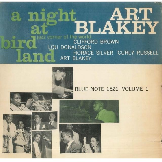 【LP】ART BLAKEY/A NIGHT AT BIRDLAND Vol.1